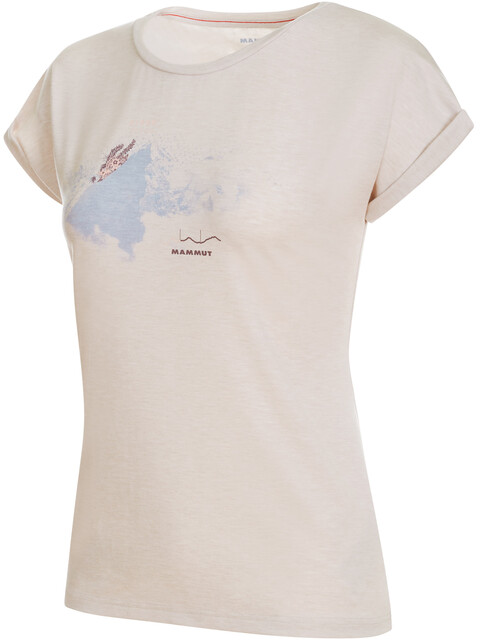 Mammut Mountain T-Shirt Women bright white melange